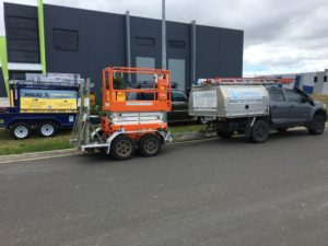 mobile electric service van