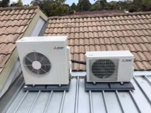 split system installation frankston
