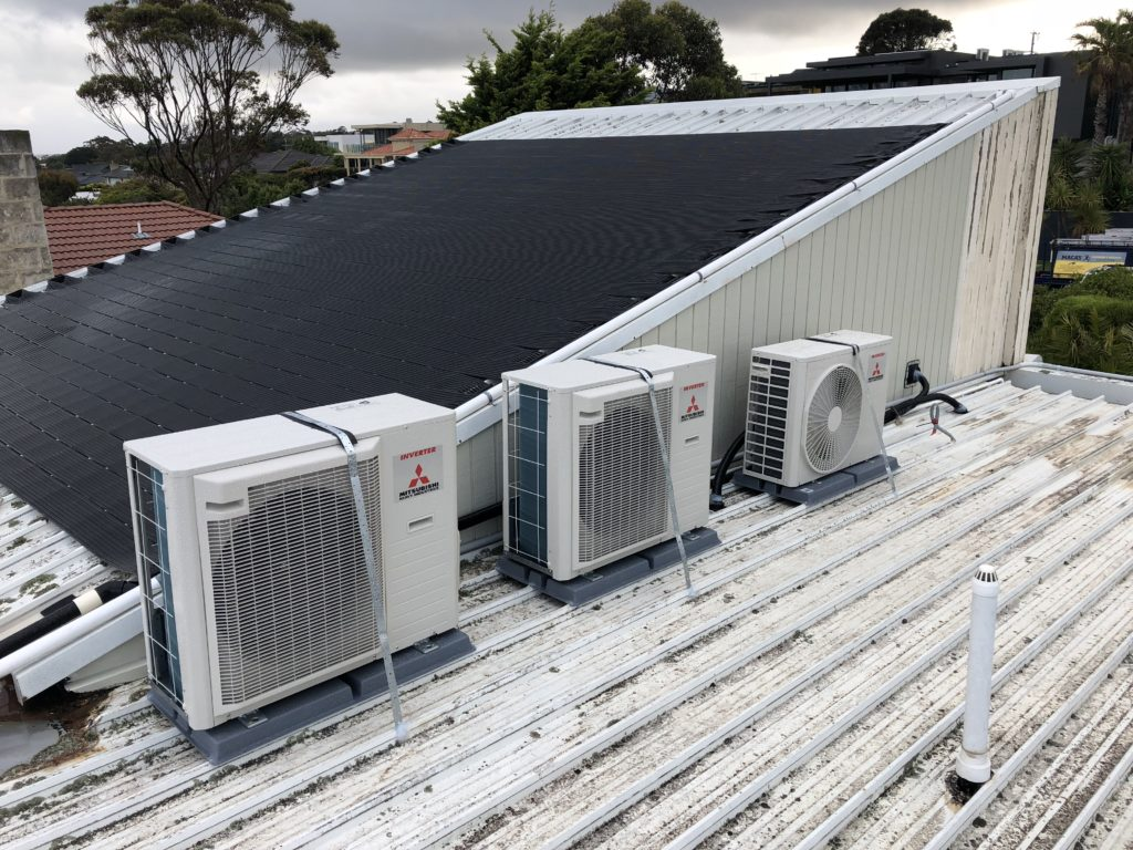 frankston split system installation